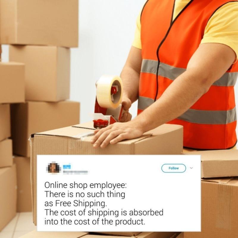 Free Shipping Myth