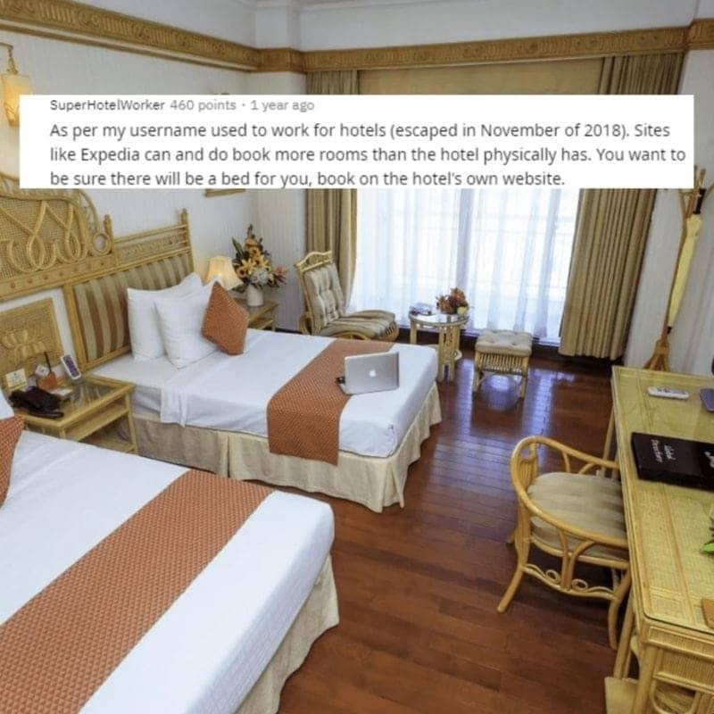 Room Not Guaranteed