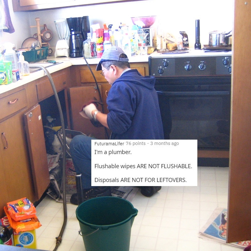 A Lesson From A Plumber